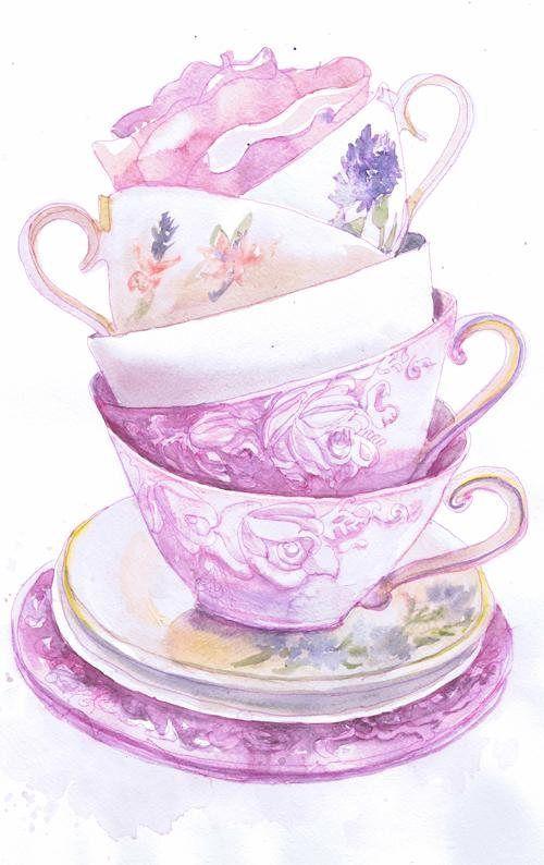 Watercolor Rainbow Trout Watercolor Coffee Mug Watercolour