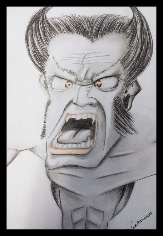 Caricatures wolverine