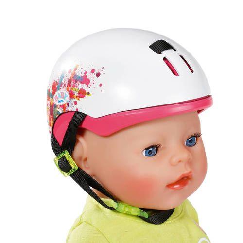 Met de helm op geboren