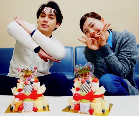 ケーキと柳楽優弥