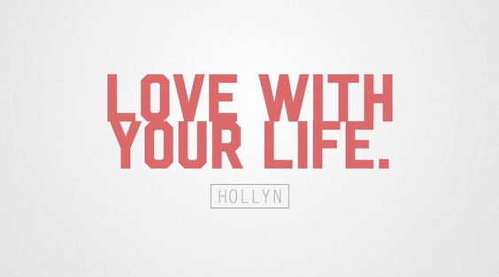 Hollyn - Love With Your Life (Official Lyric Video) Brand New!!!