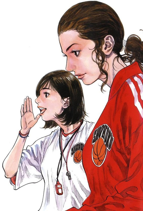 湘北美人マネージャーの二人