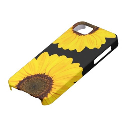 Beautiful yellow sunflowers floral iPhone 5 case