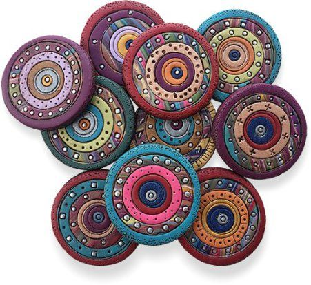 Way on PCDaily - wow! I would love to try my hand at these cool buttons!