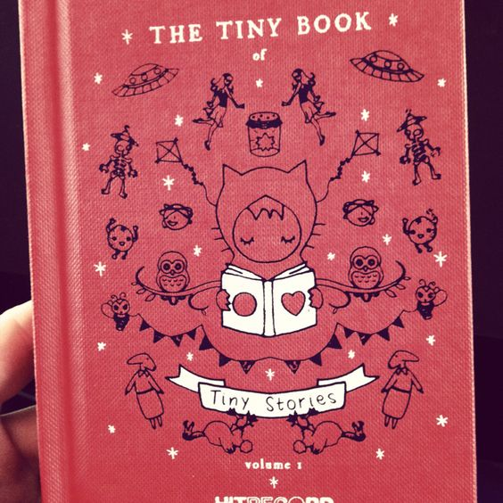 Love this tiny book #tinystories