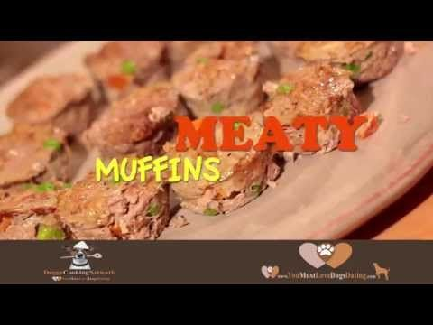 ▶ Doggy Cooking Network-Meaty Muffins - YouTube