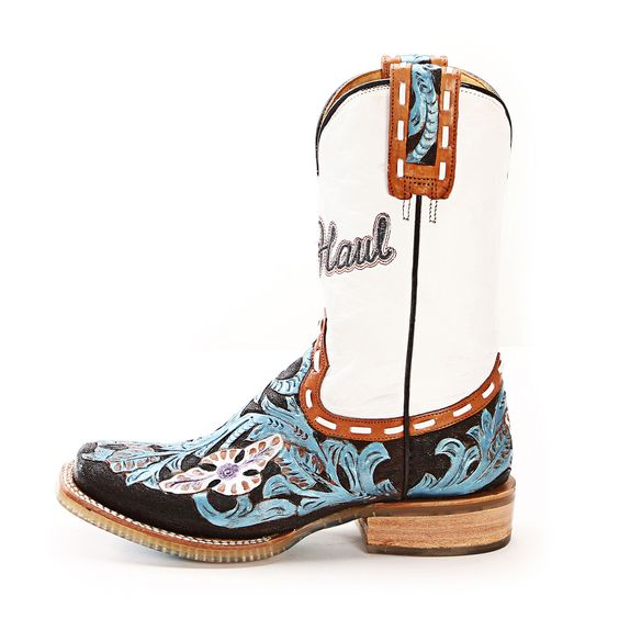 tin haul boots | Tin Haul Whip It Cowgirl Boots 1421007171 BU - PFI Western Store