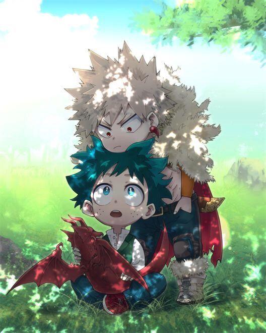 Kid Kid Bakudeku Katsudeku Katsukibakugou Izukumidoriya My Hero Academia Episodes Anime Hero