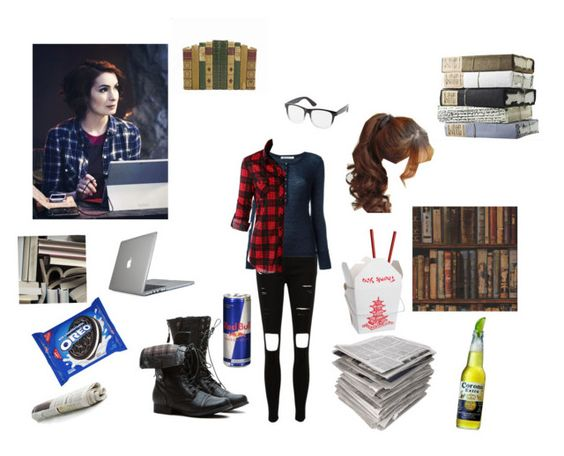 """""""Doing research with Charlie"""" by ruby-girl ❤ liked on Polyvore featuring T By Alexander Wang, LE3NO, Mr Perswall, Andrew Martin, Speck, Charlotte Russe and Pin Show"""