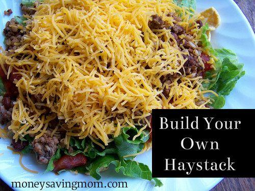 Build Your Own Haystacks Recipe Food Recipes Beef Recipes Haystacks Recipe