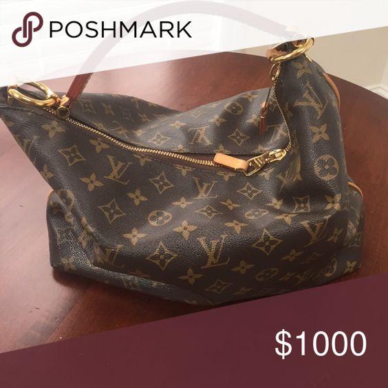 Authentic Louis Vuitton Sully PM Authentic with dust bag and receipt. Louis Vuitton Bags Shoulder Bags