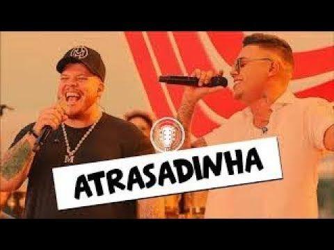 Atrasadinha Felipe Araujo Part Ferrugem Tipografia Para Status