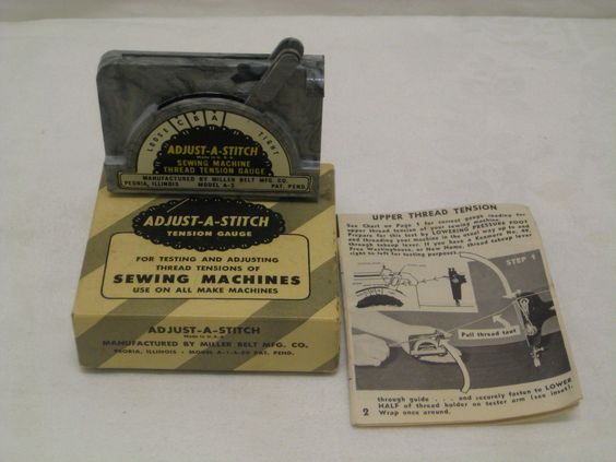how to adjust sewing machine tension