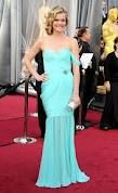 Missi Pyle at Oscars 2012 - Lose the strap and this dress becomes my favorite contender for bridesmaids in a summer wedding. #loveit