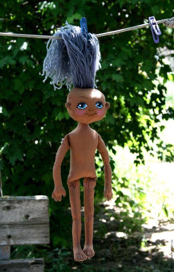 Шьём веселую куклу для девочки. Часть вторая - Ярмарка Мастеров - ручная работа, handmade