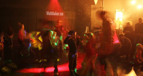 Family disco in Asker Culture House :)