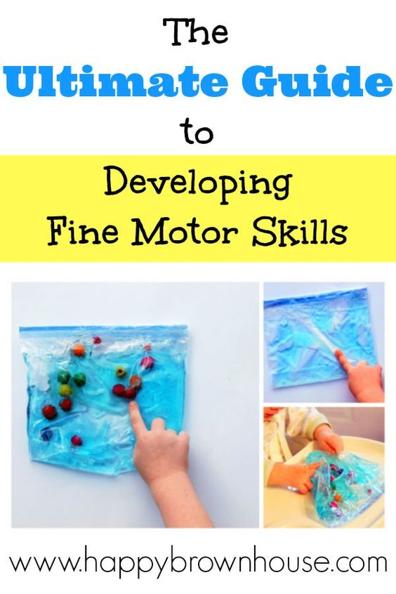 The Ultimate Guide To Developing Fine Motor Skills