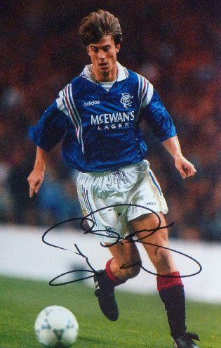 Brian Laudrup, played for Glasgow Rangers.  Awesome player.
