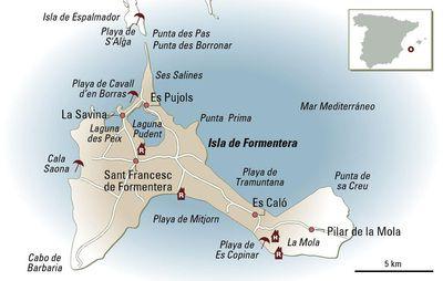 Formentera, gradación de azules | El Viajero en EL PAÍS