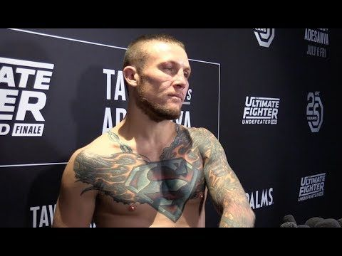 Mma Tuf 27 Finale Steven Peterson Tells The Meaning Behind His