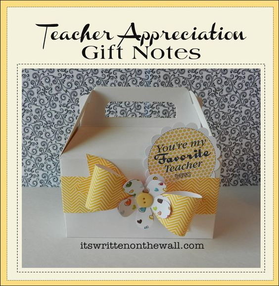 It's Written on the Wall: (freebie)Lots of  Teacher Appreciation Tags/Notes & Gift Wrapping Ideas