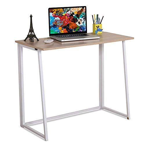 4nm Folding Table Small Foldable Computer Desk Home Off Https Www Amazon Com Dp B07s7nq Small Computer Desk Computer Desks For Home Simple Computer Desk