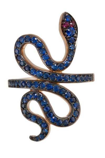 Ileana Makri, Slither Snake Ring