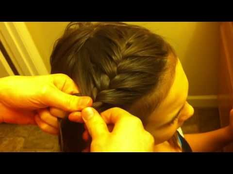 13 Side French Braid Hair Tutorial For Beginners Youtube French Braid Hairstyles Side French Braids French Braid