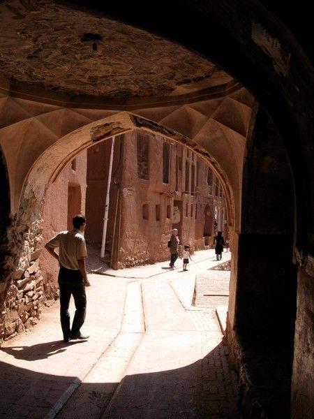 Archway - Abyaneh, Iran