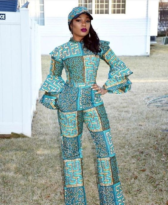 2019 Beautiful Ankara Jumpsuits