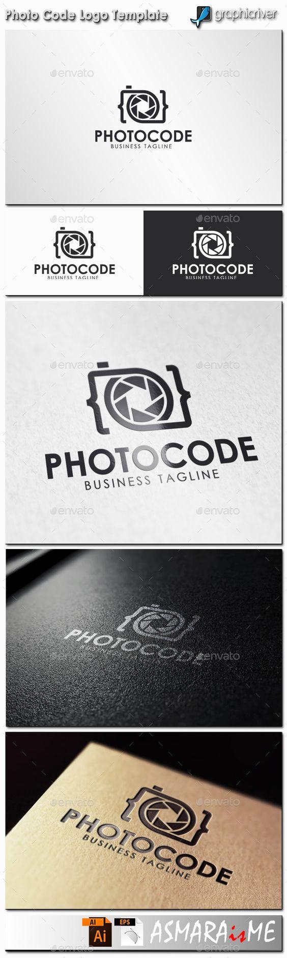 Photo Code  - Camera Logo                                                                                                                                                     More