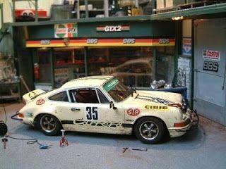 Diorama - Porsche - Rebaixados e Tunados