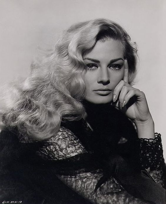 Anita Ekberg | Sex symbol in the 60s, an iconic beauty. #youresopretty: