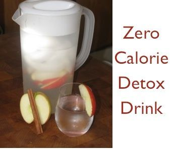To make one big pitcher use 1 apple and 1 cinnamon stick, re-fill the pitcher with water 3-4 times before you change the apple and cinnamon, and always let sit still for 10 minutes in the fridge before serving it, or you can leave overnight for stronger flavor.