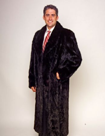 gotta be a better design for mens mink coat | Warm and Cozies for