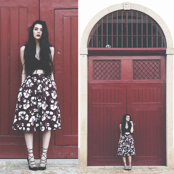 e50863a762c5 Today on the blog wearing  younghungryfree top and  misspatina skirt. by  holynights c