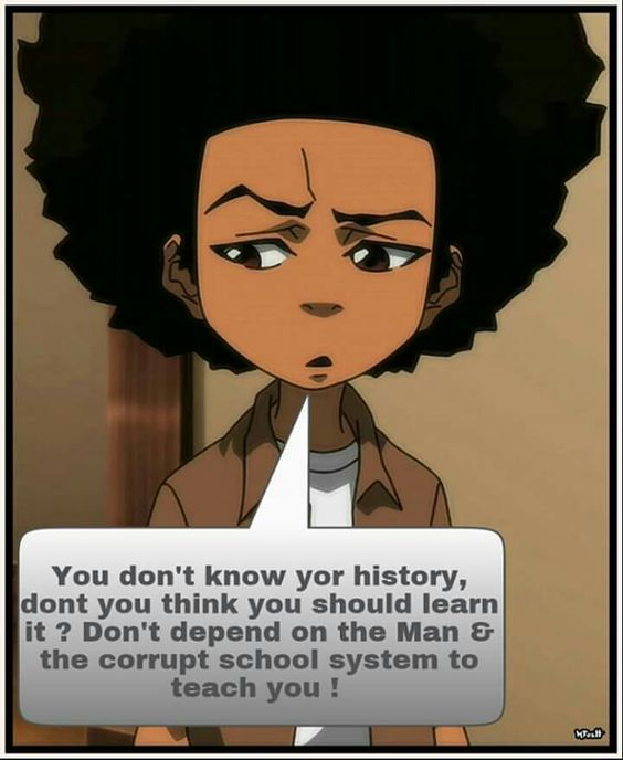 How I learned Black History was from my Parents they taught me .Read Valley of dry bones by Rudolph R Winsdor my Dad used to say you don't know who you are?