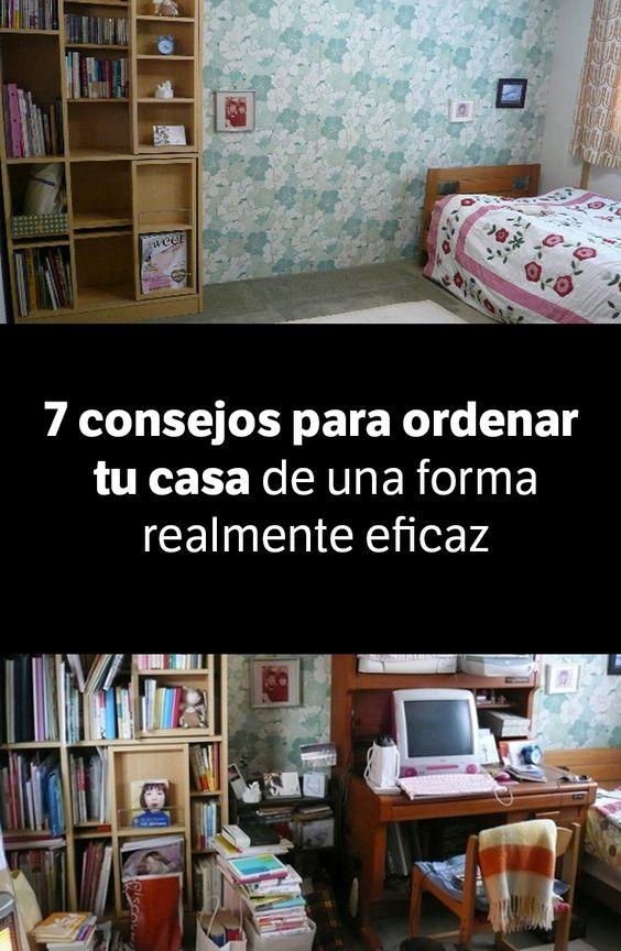 7 consejos para ordenar tu casa de una forma realmente - Como limpiar y ordenar la casa ...