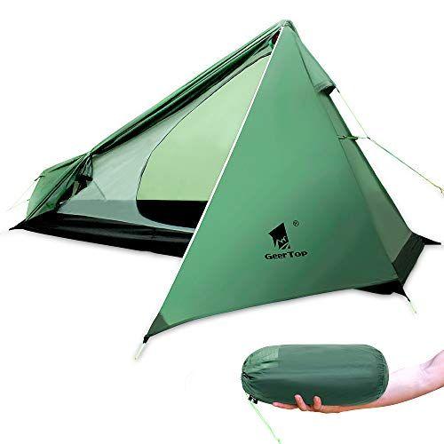 Geertop 1 Person 3 Season 15d Ultralight Backpacking Tent Https Www Amazon Com Dp B07h35rmwr Ref Cm Sw R Pi Dp U X Yl Backpacking Tent Tent Tent Camping