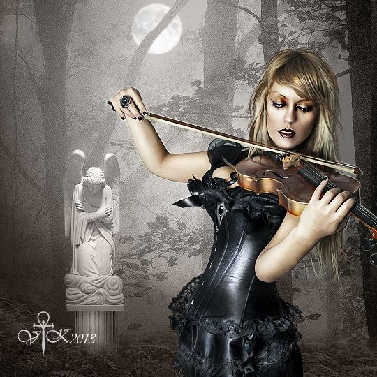 Violin Music by vampirekingdom.deviantart.com on @deviantART