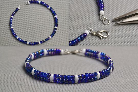 Diy Simple 2 Strand Seed Beads Bracelets Bead