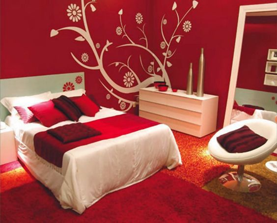 Decorate Your Red Bedroom - Bedrooms are sanctuaries as well as sleeping places, and the color scheme of your bedroom can have an impact on how much time you enjoy spending in yo...
