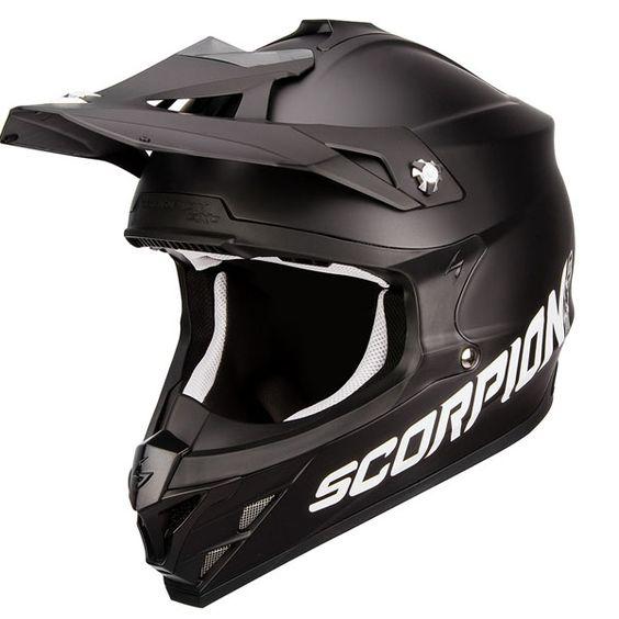 Casque Scorpion exo VX15 noir uni noir matt