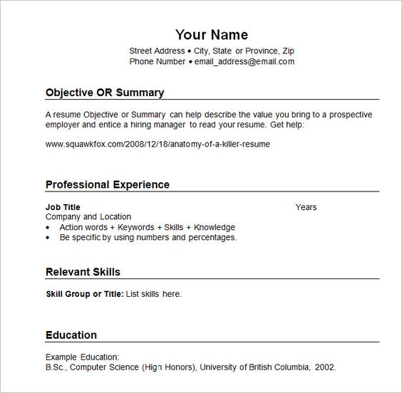Sample Resume templates Chronological , What Chronological Resume - sample resume with gpa