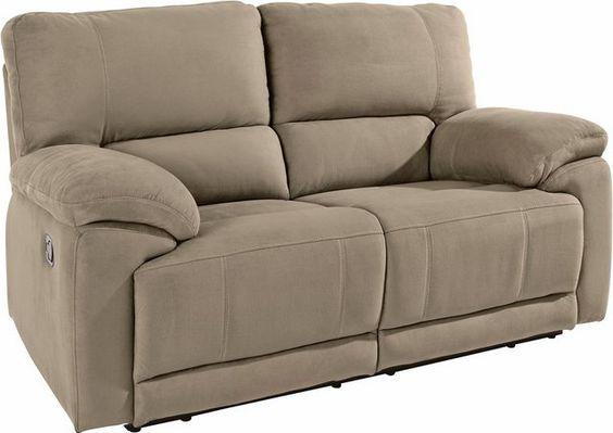 2 Sitzer Mit Relaxfunktion Und Federkern Palettenbett Atlantic Home Collection Und Relaxen