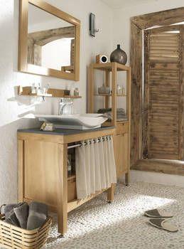 rideau sous meuble salle de bain