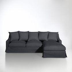 Angle coton/lin, fixe ou convertible, Evender
