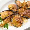 Receta de Mejillones gratinados con salsa holandesa - Karlos Arguiñano