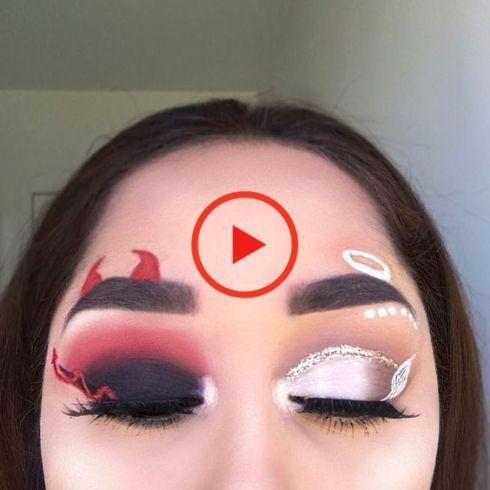 Halloween 13 Maquillages Pour Un Déguisement Pas Cher Makeup Coachella Makeup Pinterest Makeup