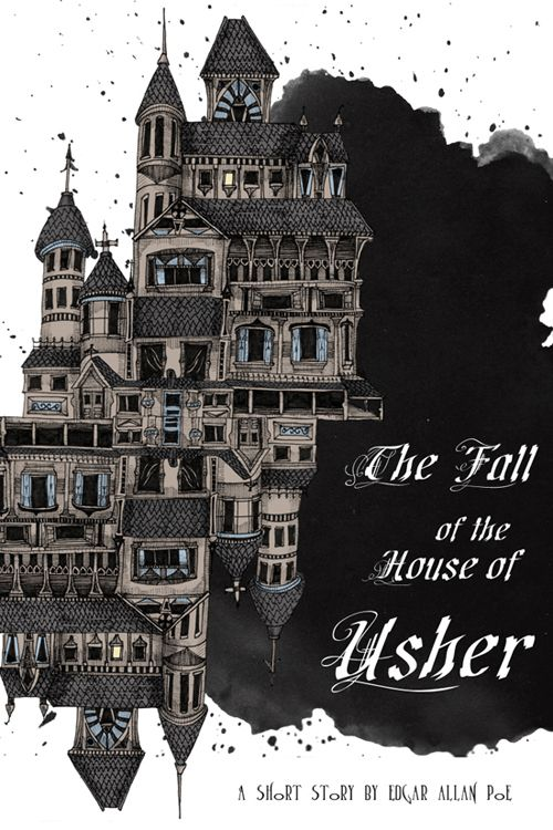 Image result for fall of the house of usher book cover